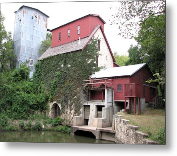 Old Oxford Mill Metal Print