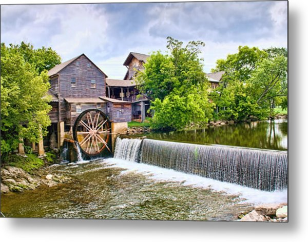 Old Pigeon Forge Mill Metal Print