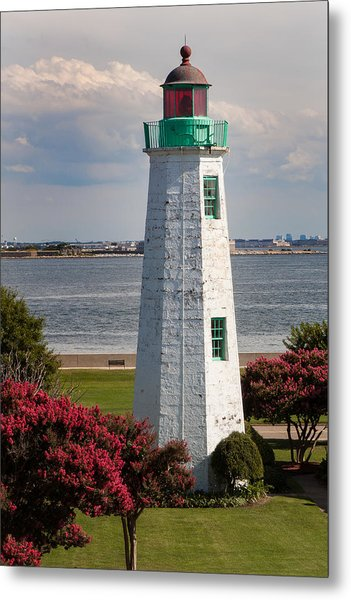 Old Point Comfort Light Metal Print