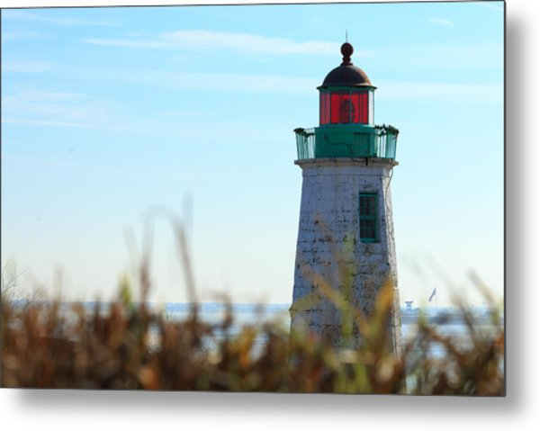 Old Point Comfort Lighthouse Metal Print