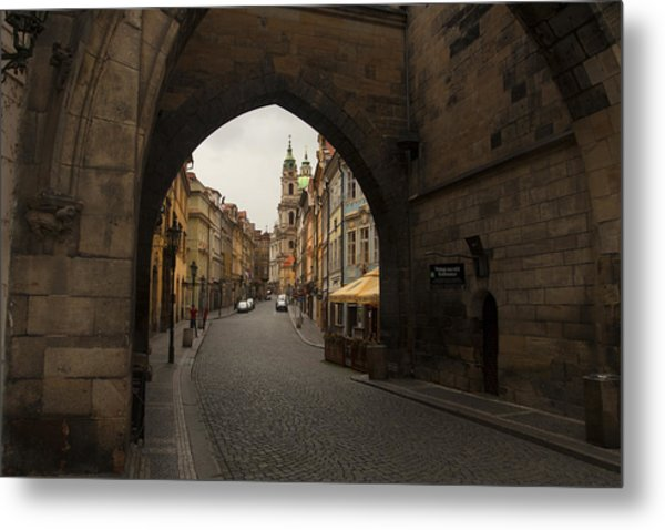 Old Prague Metal Print