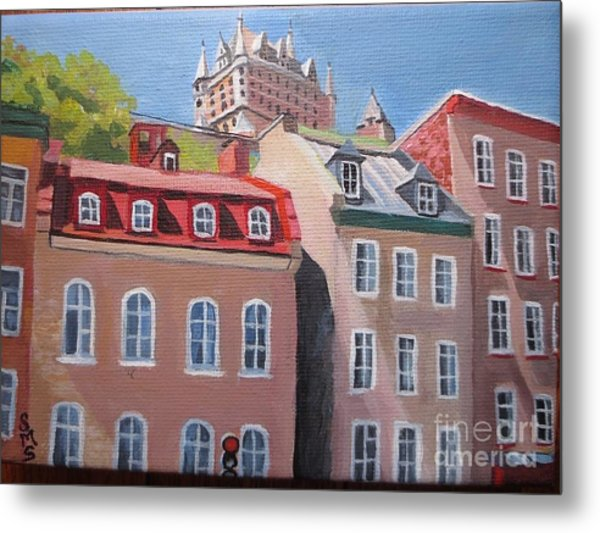 Old Quebec City Metal Print