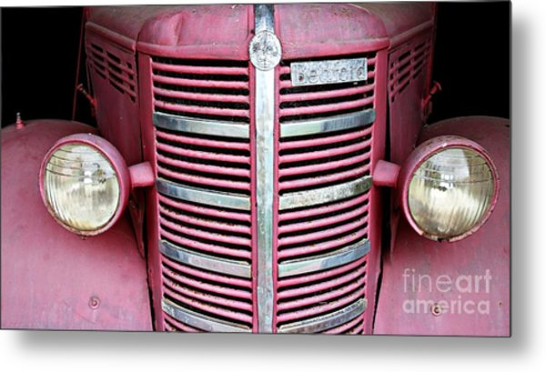 Metal Print featuring the photograph Old Red by Stephen Mitchell