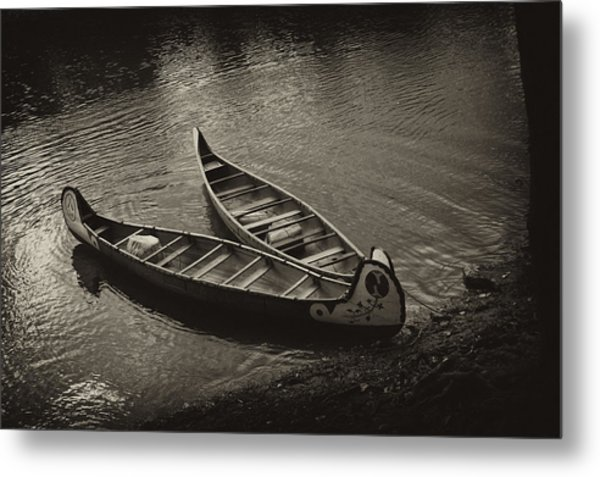 Old River Metal Print by Off The Beaten Path Photography - Andrew Alexander