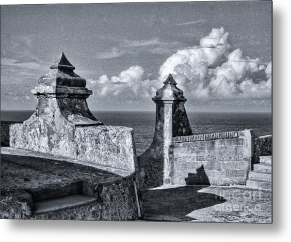 Old San Jaun Fort Metal Print