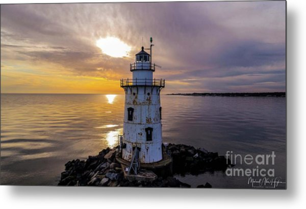 Old Saybrook Outer Light Metal Print