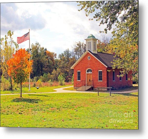 Old Schoolhouse-wildwood Park Metal Print