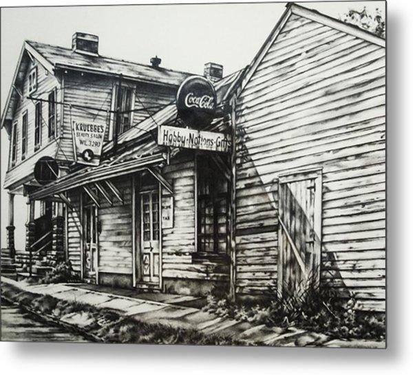 Old Shawneetown Metal Print by Michael Lee Summers