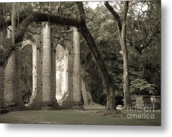 Old Sheldon Church Metal Print