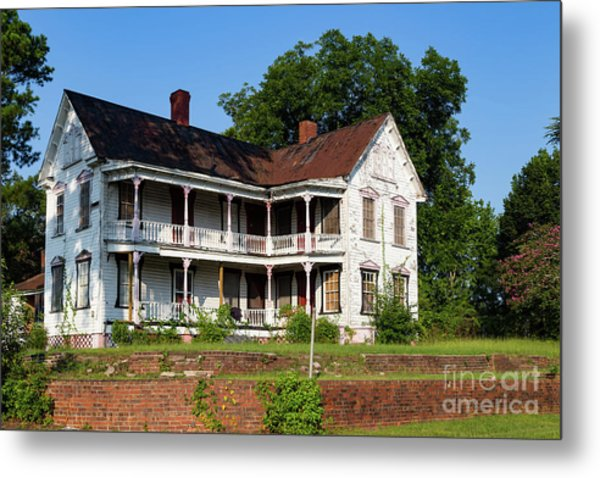 Old Shull Mansion Metal Print