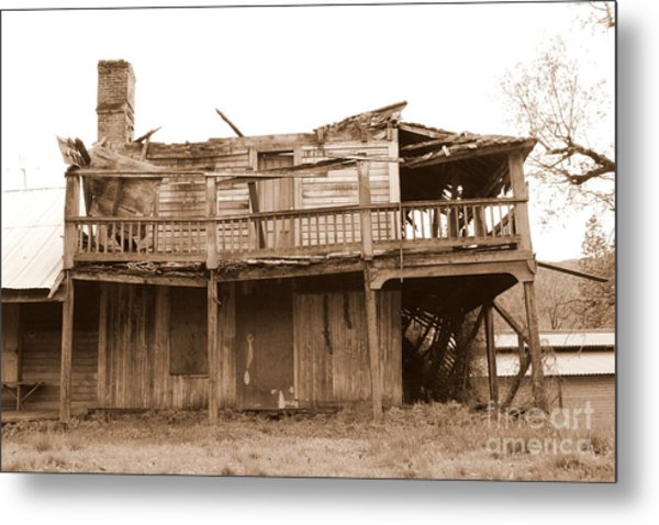 Old Stagecoach Stop Metal Print