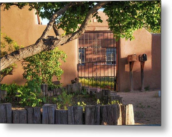 Old Town Albuquerque Pueblo  Metal Print by Gregory Ballos