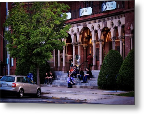 Metal Print featuring the photograph Old Town Hall In The Summer by Sven Kielhorn