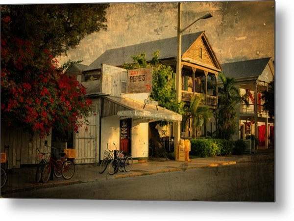 Old Town -  Key West Florida Metal Print