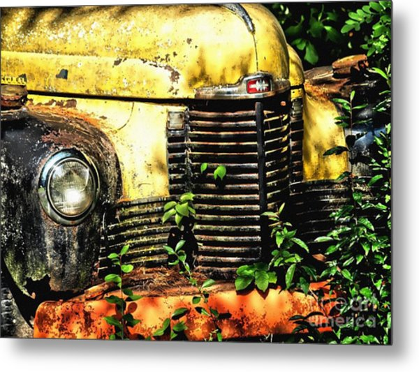 Old Transportation Metal Print by Kathy Jennings