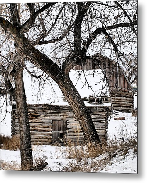 Old Ulm Barn Metal Print