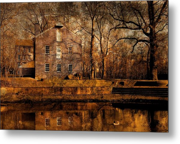 Old Village - Allaire State Park Metal Print