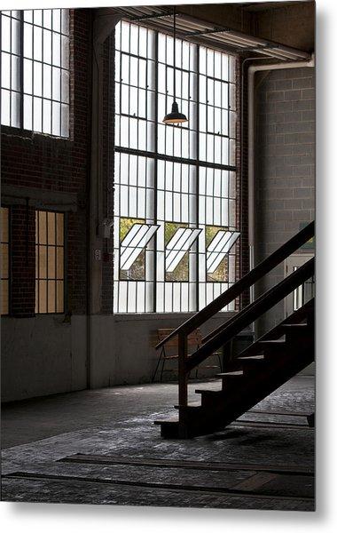Old Warehouse Metal Print