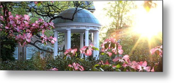 Old Well Dogwoods And Sunrise Metal Print