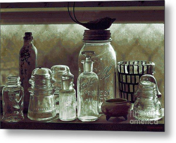 old west impressionism - Glass Ware VII Metal Print