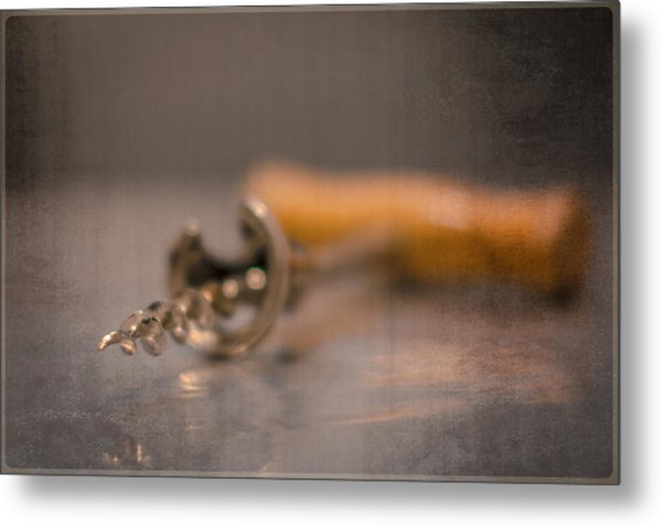 Old Wine Opener Metal Print