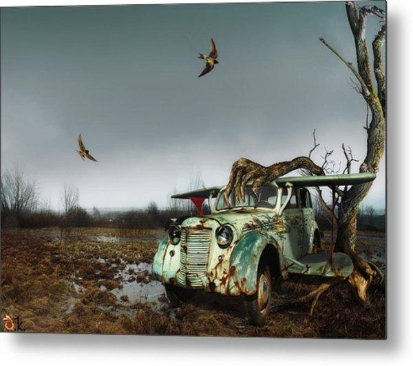 Old_bird Metal Print by Alexander Kruglov
