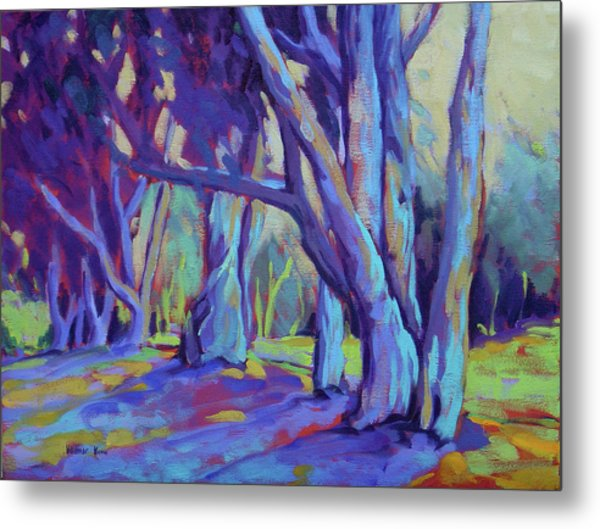 Metal Print featuring the painting Older And Wiser 3 by Konnie Kim