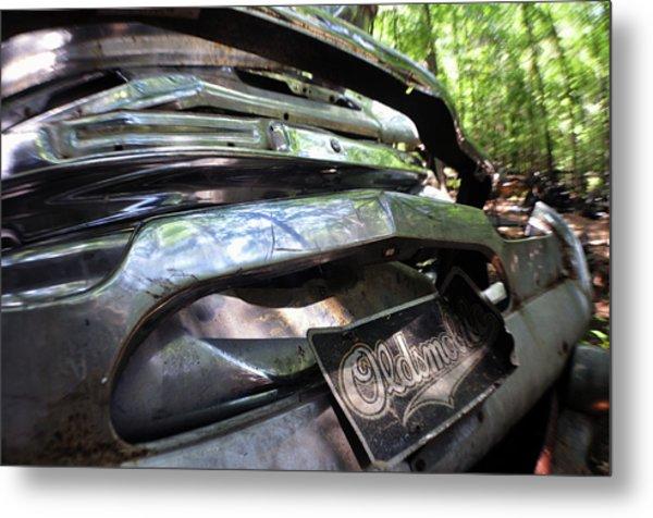 Oldsmobile Bumper Detail Metal Print