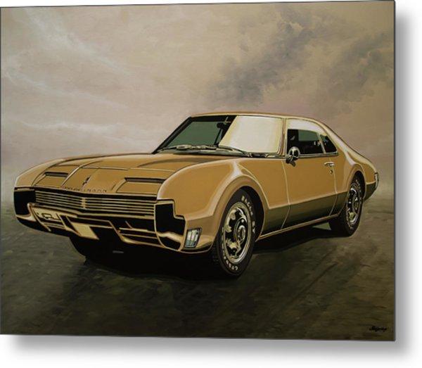 Oldsmobile Toronado 1965 Painting Metal Print