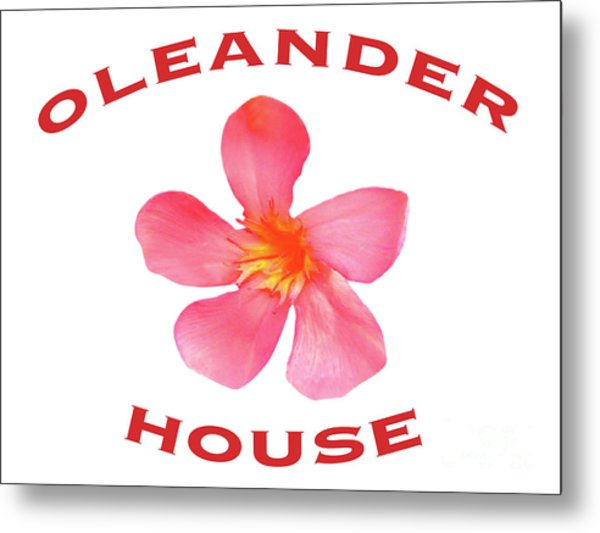 Oleander House Metal Print