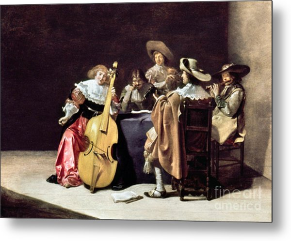 Olis: A Musical Party Metal Print