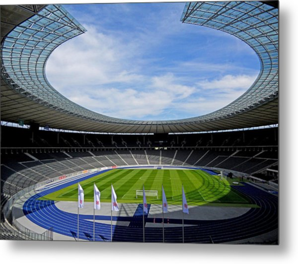 Olympic Stadium Berlin Metal Print