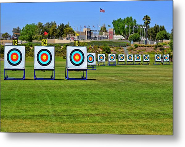 Olympic Training Center  Metal Print by See My Photos