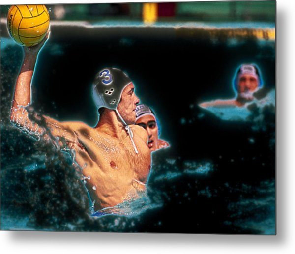 Olympic Water Polo Metal Print
