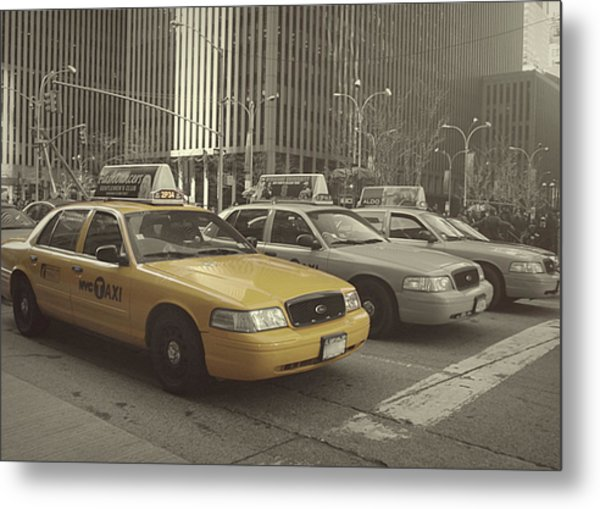 On 5th Avenue Metal Print by JAMART Photography