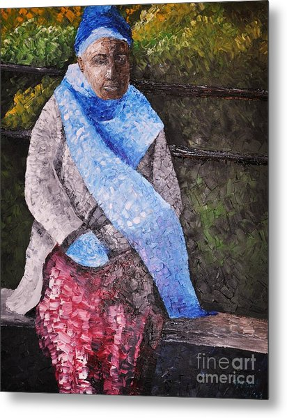 On A Cold Day Metal Print by Reb Frost