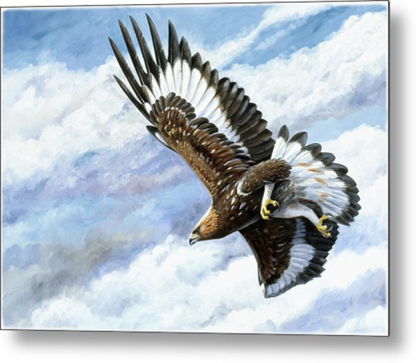 On Attack Metal Print by Dag Peterson