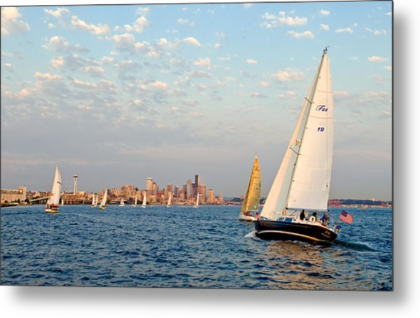 On Course Metal Print by Tom Dowd