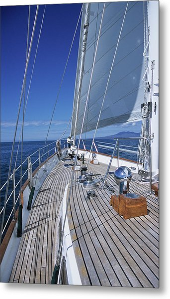 On Deck Off Mexico Metal Print