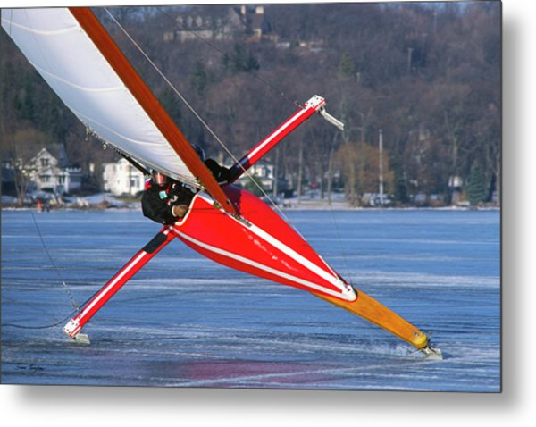 On Edge - Lake Geneva Wisconsin Metal Print