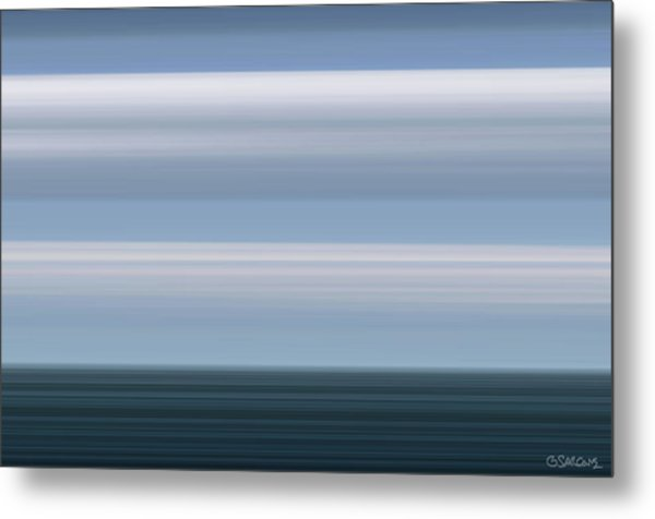On Sea Metal Print