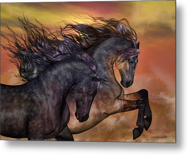 On Sugar Mountain Metal Print