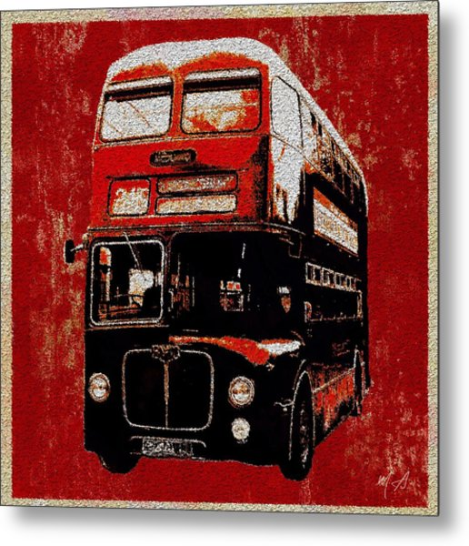 On The Bus Metal Print