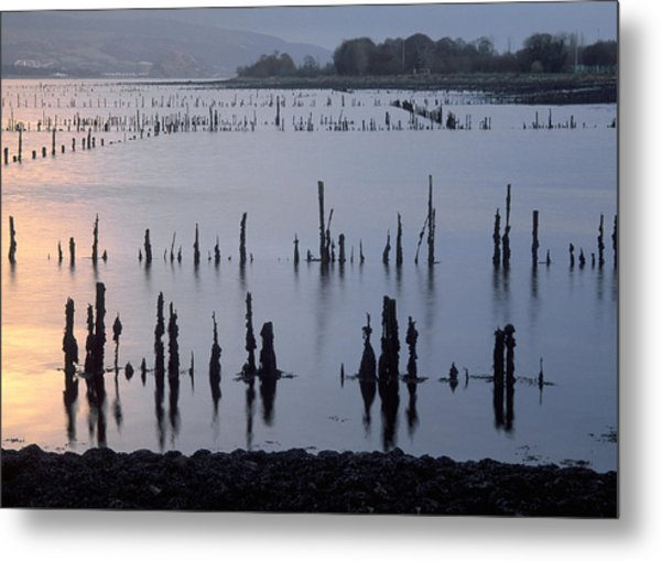 On The Clyde Metal Print