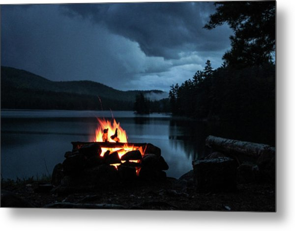 Metal Print featuring the photograph On The Lake by Jessica Tabora