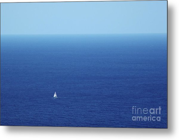 On The Mediterranean Metal Print
