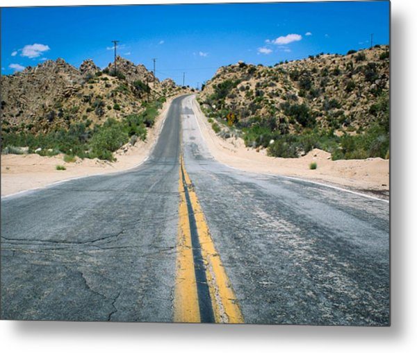 Metal Print featuring the photograph On The Road Again by Alison Frank