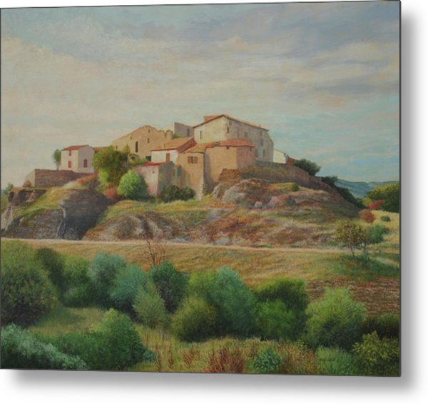 On The Road To Manosque I Metal Print