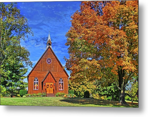 On The Road To Maryville Metal Print