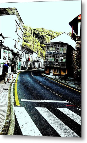 Metal Print featuring the photograph On The Road by HweeYen Ong